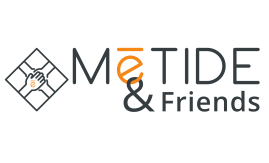 logo metide and friends