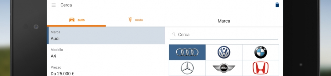 AutoScout24: una app per trovare l'auto dei sogni