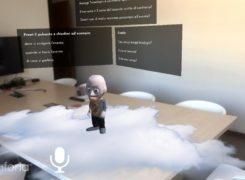 Un assistente virtuale in realtà aumentata: Editem
