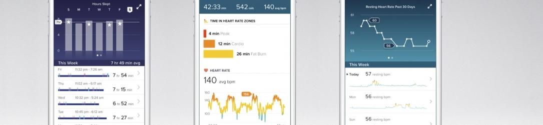 FitBit, l'app per il fitness