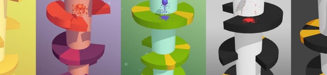 Helix Jump: nella semplicità sta il successo